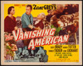 """Movie Posters:Western, The Vanishing American (Republic, 1955). Half Sheets (2) (22"""" X 28""""). A and B Styles. Western.. ... (Total: 2 Items)"""