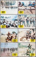"Movie Posters:War, The Boys in Company C & Other Lot (Columbia, 1978). Lobby CardSets of 8 (2) (11"" X 14""). War.. ... (Total: 16 Items)"