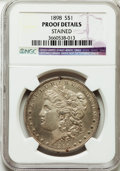 Proof Morgan Dollars, 1898 $1 -- Stained -- NGC Details. Proof....