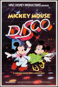 """Movie Posters:Animation, Mickey Mouse Disco (Buena Vista, 1980). One Sheet (27"""" X 41"""").Animation.. ..."""