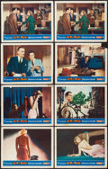 """Movie Posters:Hitchcock, Dial M for Murder (Warner Brothers, 1954). Lobby Cards (8) (11"""" X14""""). Hitchcock.. ... (Total: 8 Items)"""