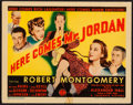 """Movie Posters:Fantasy, Here Comes Mr. Jordan (Columbia, 1941). Title Lobby Card (11"""" X 14""""). Fantasy.. ..."""