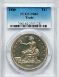Proof Trade Dollars: , 1880 T$1 PR62 PCGS. PCGS Population (110/387). NGC Census:(46/401). Mintage: 1,987. Numismedia Wsl. Price for problem free...