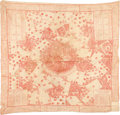 Miscellaneous:Gaming Collectibles, Game of Whist: Eighteenth Century Cotton Bandanna....