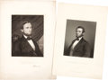 Political:Small Paper (pre-1896), Abraham Lincoln: Twelve Bookplates & Engravings.... (Total: 12 Items)