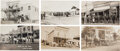 Miscellaneous:Postcards, Real Photo Postcard: Five Early Oregon Town Views.... (Total: 5Items)