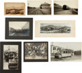 Photography:Studio Portraits, Lot of Eight Transportation Photos,... (Total: 8 Items)