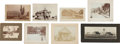 Photography:Studio Portraits, Lot of Eight California Photograph Town Scenes.... (Total: 8 Items)