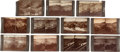 Photography:Stereo Cards, Lot of Eleven Dakota Territory Black Hills Northwestern Line Stereoviews by W.R. Cross.... (Total: 11 Items)