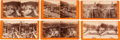 Photography:Stereo Cards, Lot of Six Watkins' Central Pacific Rail Road Stereoviews.... (Total: 6 Items)