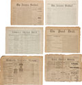 Miscellaneous:Newspaper, Arizona Territory: Six Early Newspapers....