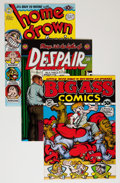 Bronze Age (1970-1979):Alternative/Underground, Underground Robert Crumb-Related Bronze Age Comix Group (Various Publishers, 1970s) Condition: Average VF.... (Total: 7 Comic Books)