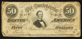 Confederate Notes:1864 Issues, T66 $50 1864 PF-1 Cr. 246.. ...