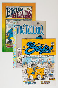 Comic Books - Assorted Underground Comics Group (Various, 1970s) Condition: Average FN.... (Total: 5 Comic Books)