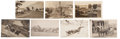 Photography:Official Photos, Idaho: Seven Early 19th Century Real Photo Postcards Featuring Townand Country Scenes of Idaho.... (Total: 7 Items)