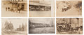 Miscellaneous:Postcards, Real Photo Postcard: Lot of Six California Stagecoach Views....(Total: 6 Items)