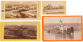 Photography:Stereo Cards, Lot of Four Utah Stereoviews.... (Total: 4 Items)