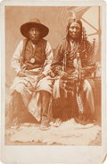 Photography:Cabinet Photos, Cabinet Card Photo: Chiefs Wearing Peace Treaty Medallions....