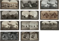 Photography:Stereo Cards, Lot of Eleven Indian Stereoviews.... (Total: 11 Items)