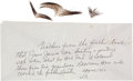 Antiques, Death of Jesse James: Feathers from the Iconic Feather Duster HeWas Using When Assassinated by Bob Ford....