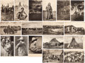 Miscellaneous:Postcards, Western Postcards: Seventeen Fine, Circa 1900-1909, Images byGeorge B. Cornish, Arkansas City, Kansas.... (Total: 17 Items)