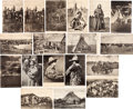 Miscellaneous:Postcards, Western Postcards: Eighteen Fine 1900-1909 Images by George B.Cornish, Arkansas City, Kansas. ... (Total: 18 Items)
