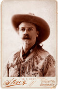 "Photography:Cabinet Photos, William F. ""Buffalo Bill"" Cody, Cabinet Card by Stacy...."