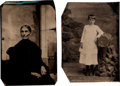 Photography:Tintypes, Two Unidentified Tintypes. ... (Total: 2 )