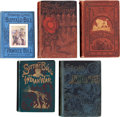 Books:Non-fiction, Five Early Clothbound Books about the Old West as Shown.... (Total: 5 Items)