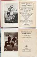 """Books:Non-fiction, """"Buffalo Bill"""" Cody: Two """"Better"""" Clothbound Biographies. ... (Total: 2 Items)"""
