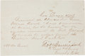 Western Expansion:Cowboy, New Mexico Territory Military Document, 1878....