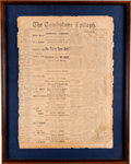 Miscellaneous:Newspaper, The Tombstone Epitaph, August 2, 1881....