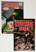 Golden Age (1938-1955):Horror, Miscellaneous Horror Comics Group (Various Publishers, 1954-56)....(Total: 2 Comic Books)