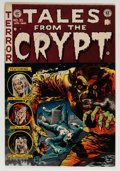 Golden Age (1938-1955):Horror, Tales From the Crypt #35 (EC, 1953) Condition: FN/VF....