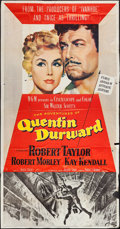 "Movie Posters:Adventure, Quentin Durward (MGM, 1955). Three Sheet (41"" X 78""). Adventure....."