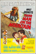 "Movie Posters:Adventure, Third Man on the Mountain & Others Lot (Buena Vista, 1959). OneSheet (27"" X 41""). Adventure.. ... (Total: 3 Items)"