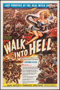 """Movie Posters:Adventure, Walk into Hell (Patric, 1957). One Sheet (27"""" X 41""""). Adventure....."""