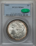 Morgan Dollars: , 1882 $1 MS64 PCGS. CAC. PCGS Population (4858/1470). NGC Census:(6302/1411). Mintage: 11,101,100. Numismedia Wsl. Price fo...