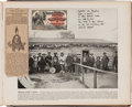 Autographs:Celebrities, Sioux Chief Rain in the Face: A Rare Autograph Obtained on a Ticketat the 1893 Columbian Exposition in Chicago. ...