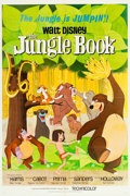 """Movie Posters:Animation, The Jungle Book (Buena Vista, 1967). One Sheet (27"""" X 41"""").. ..."""