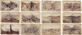 Photography:Stereo Cards, Colorado: Twelve Early Stereoviews, Circa 1880. ... (Total: 12 Items)