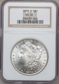 Morgan Dollars: , 1879-S $1 MS65 NGC. NGC Census: (21275/9035). PCGS Population(22901/8171). Mintage: 9,110,000. Numismedia Wsl. Price for p...