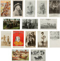 Miscellaneous:Ephemera, Buffalo Bill: Very Large Collection of over 150 Related PeriodPostcards.... (Total: 21 Items)