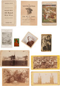 Western Expansion:Cowboy, Buffalo Bill's Wild West and other Wild West Shows: ElevenItems.... (Total: 11 Items)
