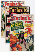 Silver Age (1956-1969):Superhero, Fantastic Four Group (Marvel, 1964-68) Condition: Average VG/FN.... (Total: 20 Items)