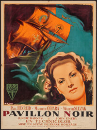 "The Spanish Main (RKO, 1945). Printer's Proof French Affiche (23.5"" X 31.5""). Adventure"