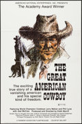 """Movie Posters:Documentary, The Great American Cowboy & Other Lot (American National Enterprises, 1973). One Sheets (2) (27"""" X 41""""). Documentary.. ... (Total: 2 Items)"""