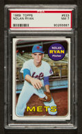 Baseball Cards:Singles (1960-1969), 1969 Topps Nolan Ryan #533 PSA NM 7....