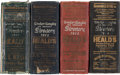 Books:Reference & Bibliography, San Francisco Business Directories: Four Massive Volumes for 1911 -1914. ... (Total: 4 Items)