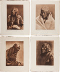 Photography:Official Photos, Edward S. Curtis, Photographer: Lot of Six Vintage PortfolioPhotogravures from The North American Indian, Plus Ch...(Total: 7 Items)
